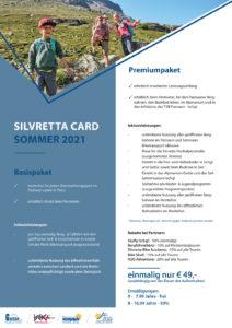Silvretta Card Flyer